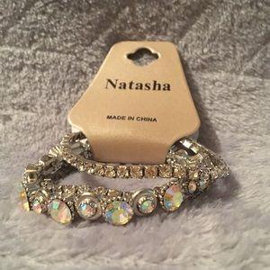 ✨NEW✨ Dazzling Crystal Natasha Bracelets